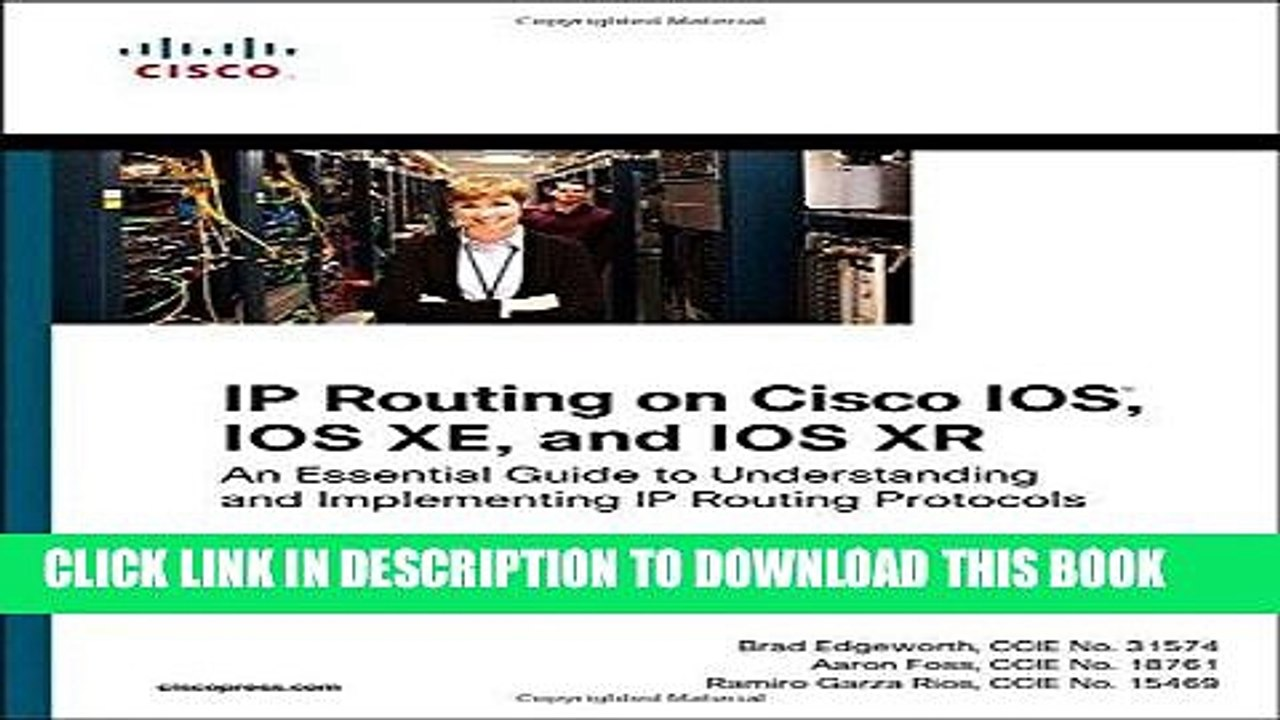 Ebook IP Routing on Cisco IOS, IOS XE, and IOS XR: An Essential Guide to  Understanding and
