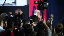 """Juppé """"continue le combat"""", """"projet contre projet"""" face à François Fillon"""