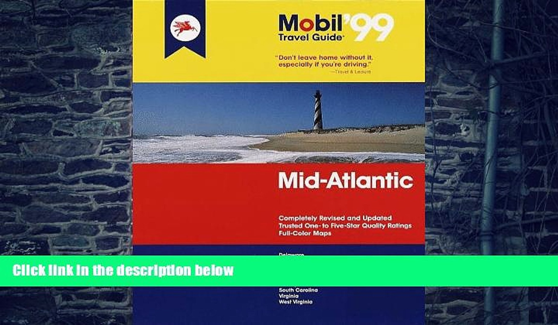 Buy NOW  Mobil 99: Mid-Atlantic (Mobil Travel Guide Mid-Atlantic (Dc, De, MD, Nj, Pa, Va, Wv))