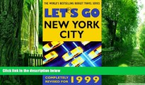 Buy NOW  Let s Go 1999: New York City Let s Go Inc.  Full Book