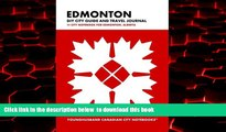 Read book  Edmonton DIY City Guide and Travel Journal: City Notebook for Edmonton, Alberta (Curate