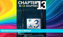 FAVORITE BOOK  Chapter 13 in 13 Chapters (Chapter 13 in 13 Chapters is the series title for