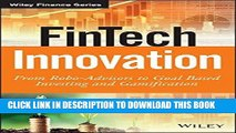 Ebook FinTech Innovation: From Robo-Advisors to Goal Based Investing and Gamification (The Wiley