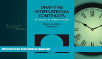 EBOOK ONLINE  Drafting International Contracts: An Analysis of Contract Clauses  PDF ONLINE