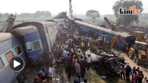 At least 120 killed as indian train derailed