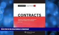 FAVORITE BOOK  Casenotes Legal Briefs: Contracts Keyed to Calamari, Perillo, Bender   Brown, 6th