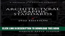 [PDF] Download Architectural Graphic Standards for Architects, Engineers, Decorators, Builders and