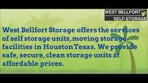 West Bellfort Self Storage - Moving Storage Houston
