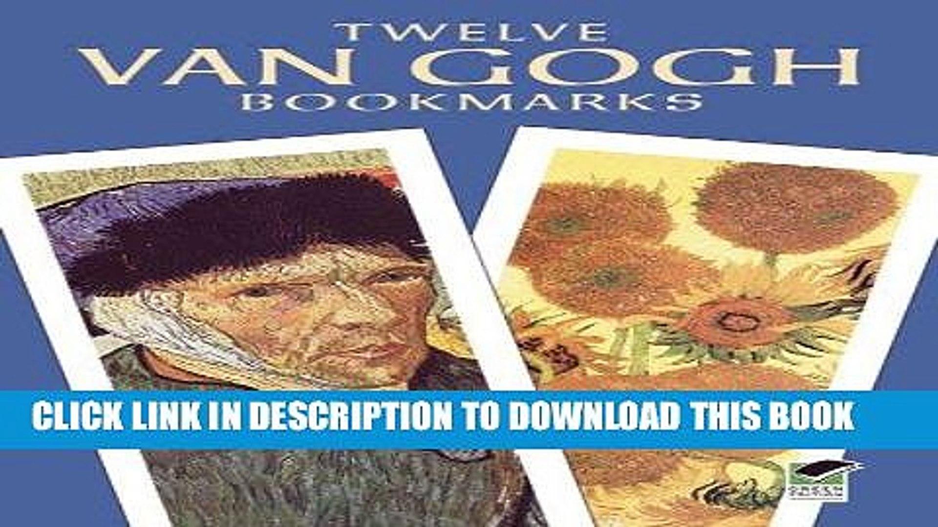 Twelve Monet Bookmarks
