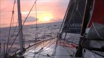 J16 : Lever de soleil pour Yann Eliès / Vendée Globe