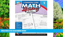 Deals in Books  Carson Dellosa Common Core 4 Today Workbook, Math, Grade 2, 96 Pages (CDP104591)