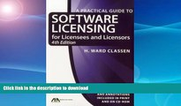 READ  Practical Guide to Software Licensing: For Licensees and Licensors (Practical Guide to