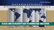 [PDF Kindle] International Financial Management (Mcgraw-Hill/Irwin Series in Finance, Insurance,