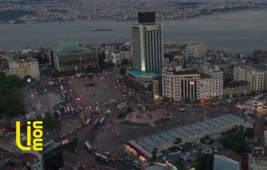 Taksim Square 360 View
