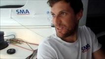 J16 : Paul Meilhat approche le front à grande vitesse / Vendée Globe