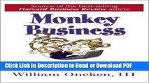 Read Monkey Business: Are You Controlling Events or Are Events Controlling You? Free Books