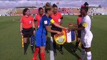U20 Feminine, Mondial 2016 France-Ghana (2-2), le resumé