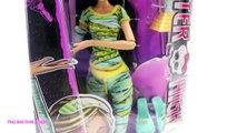 BOX OPENING _Monster High_ Dolls Clawdeen Wolf Frankie Stein Cleo De Nile Draculaura