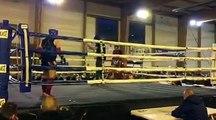 Quentin Leclercq (Muay thai vendinois) Vs Cesar Wroblewski (team beanshimed halluin) championnat régional ffkmda waziers nov 2016