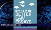 FAVORIT BOOK  How to Write Better Law Essays: Tools   Techniques for Success in Exams