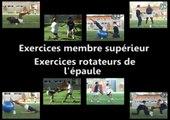 Exercices membre supérieur :  exercices rotateur de l'épaule