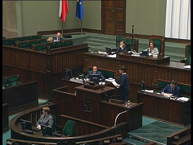 Poseł Dorota Rutkowska - Wystąpienie z dnia 15 listopada 2016 roku.