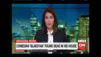 Blakdyak Found dead in His house. Watch the details