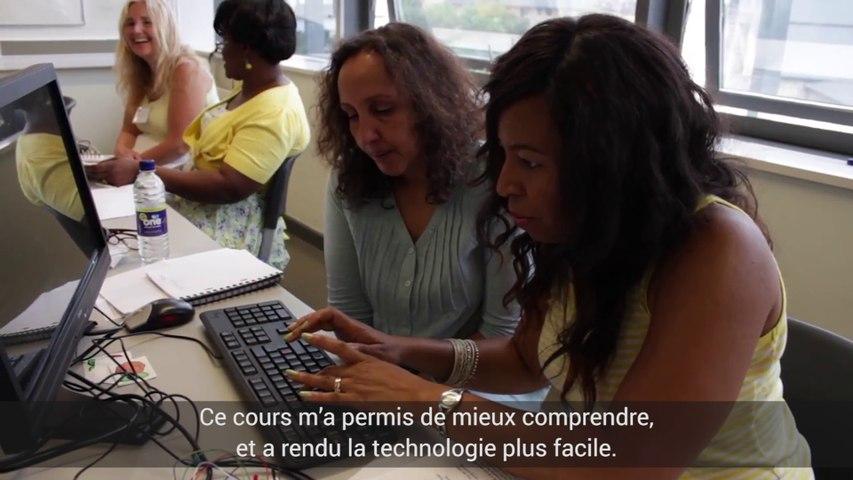 Les mères s'émancipent via l'informatique - Londres