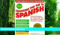 Full [PDF]  Cracking the SAT II: Spanish Subject Tests, 1998 ED (Annual)  READ ONLINE