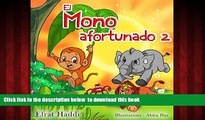 """liberty book  Libros para niños: """"El mono afortunado 2""""  (Libro de imágenes ilustradas para"""