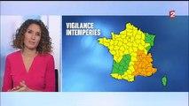 """Intempéries: Météo France place 20 départements en vigilance orange """"pluie inondation"""", """"orages"""" ou """"vents violents"""""""