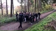 Les hooligans de Nancy et Strasbourg s'unissent pour se battre contre ce de Rotterdam