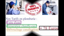 Plombier Villier Le Bel à 39€/H tel 01 83 64 78 25