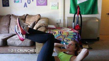 5 Best Dorm Ab Exercises