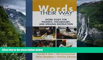 Buy NOW  Words Their Way: Word Study for Phonics, Vocabulary, and Spelling Instruction plus Words