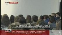 La déportation racontée aux lycéens