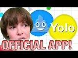 Agar.io iOS & Android App | GET OVER HERE!! (iOS/Android Gameplay)