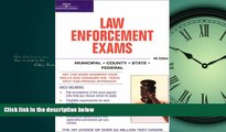 READ book Master the Law Enforcement Exams, 4/e (Arco Master the Federal Law Enforcement Exams)