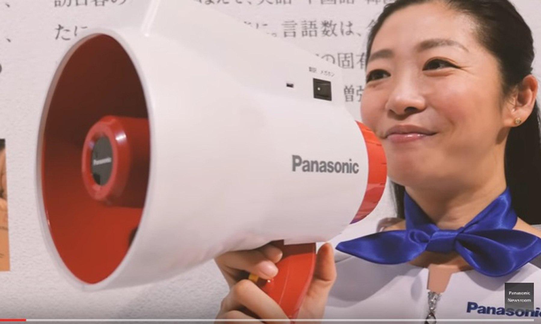 VÍDEO:Este megáfono traduce lo que dices de manera instantánea a otros idiomas