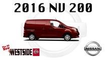 2016 Nissan NV200 Cargo Van Jacksonville FL- Westside Nissan -  Roomy Storage