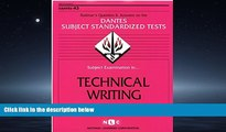 READ THE NEW BOOK DSST Technical Writing (Passbooks) (DANTES SUBJECT STANDARDIZED TESTS (DANTES))