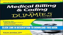 Ebook Medical Billing and Coding For Dummies Free Read