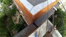 Vivez ce Parkour en POV sur les toits de russie