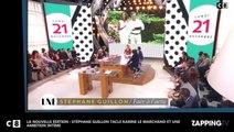 La Nouvelle Edition: Stéphane Guillon tacle Karine Le Marchand et Une ambition intime