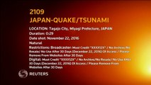 Tsunami atinge o Japão após terremoto perto de local do desastre de Fukushima