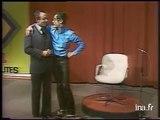 Iggy Pop sur le plateau du JT d 'Yves Mourousi