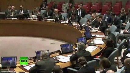 ONU 21/11/2016 Situation en Syrie Intervention de la Russie