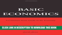 [READ PDF] Kindle Basic Economics: A Common Sense Guide to the Economy Free Download