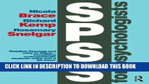 [READ PDF] EPUB SPSS for Psychologists: Fifth Edition Full Online