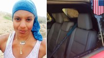 Misplaced Islamophobia: hiker wearing bandana finds car broken into and anti-Islam note